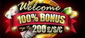deposit match welcome bonus