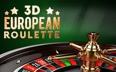 3D European Roulette with no deposit required