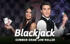 Blackjack Common Draw Low Roller