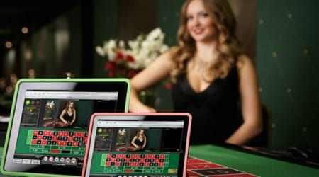 live dealer express spins roulette